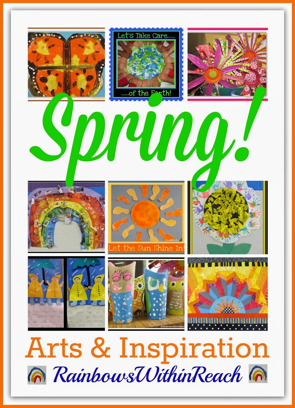 SPRING Arts + Crafts + Projects RoundUP