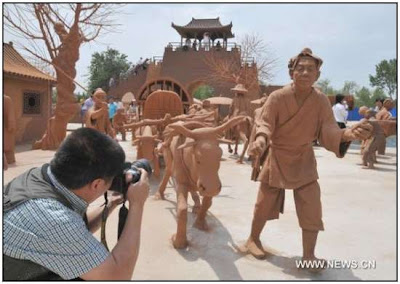 China Park Made Entirely out of Clay Seen On www.coolpicturegallery.us