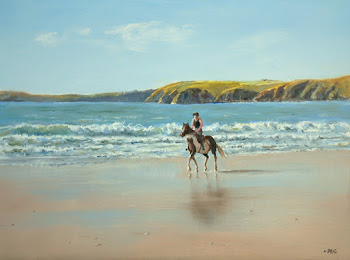 Horse and rider (Manorbier) £185