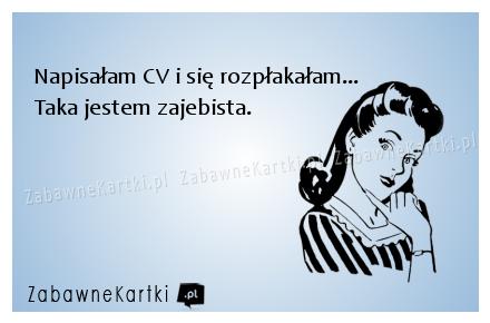 zajebiste CV