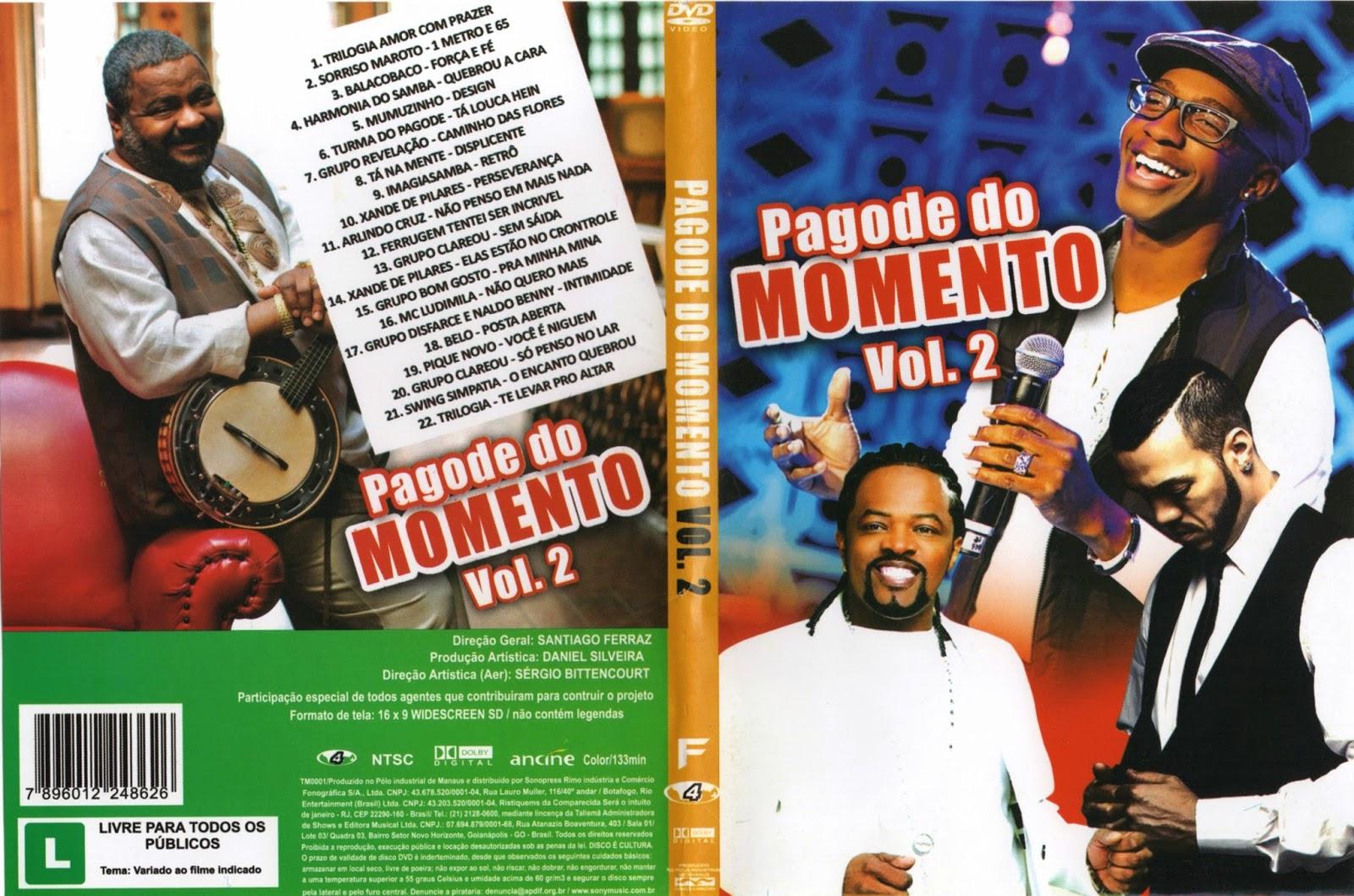 DVD Pagode dos Amigos (2015)