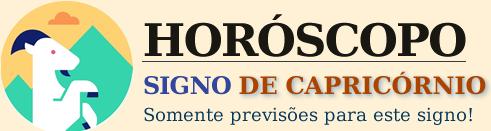 Horóscopo do dia Capricórnio