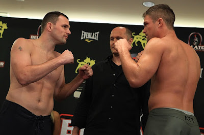 Dan Cramer vs. Jeff Nader Bellator 48 Weigh-In