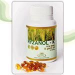 น้ำมันรำข้าวและจมูกข้าว RYZANOL- K (คิงส์ไลฟ์ออยล์)