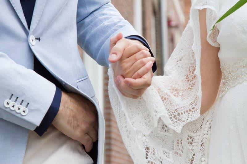Dank je wel !bruid en bruidegom voor de mooie foto.
