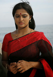 Actress Remya Nambeesan Latest Picture Gallery in Saree  0005