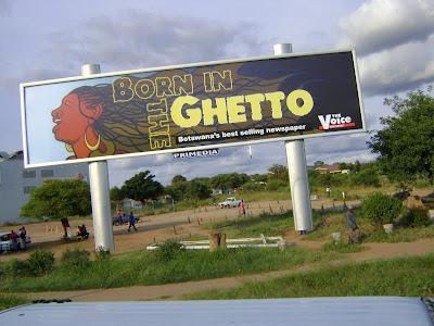 Francistown w Botswanie