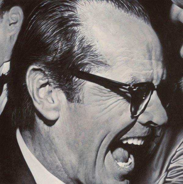 Jack Nicholson - New Pop Realism - Sebastian Krüger 1963