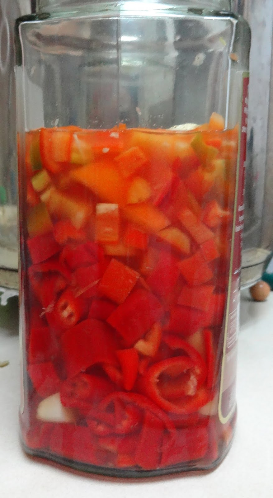 Fresh'' Sriracha - homemade hot sauce