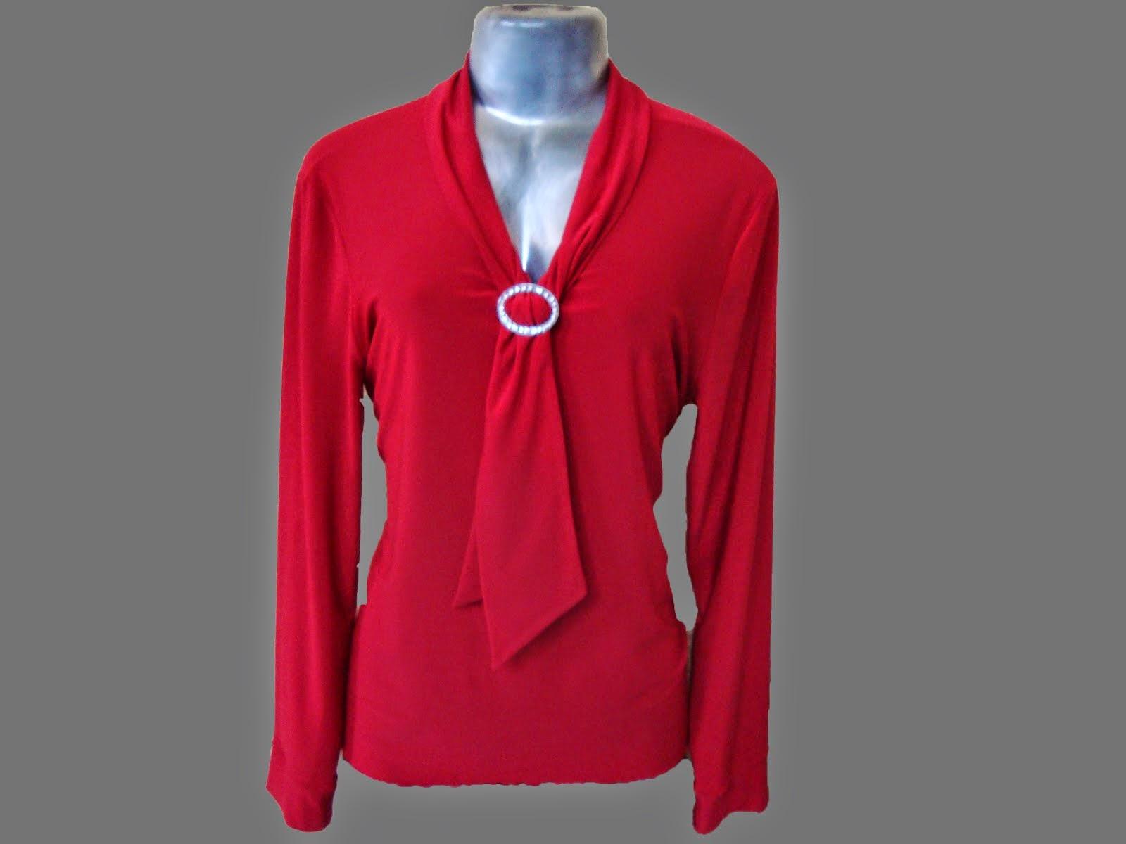 blusa de viscocrepe