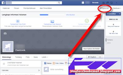 cara mendelete fanspage facebook