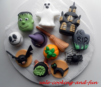 cooking fun by valentina bild tutorial easy halloween figure leichte halloween figuren. Black Bedroom Furniture Sets. Home Design Ideas