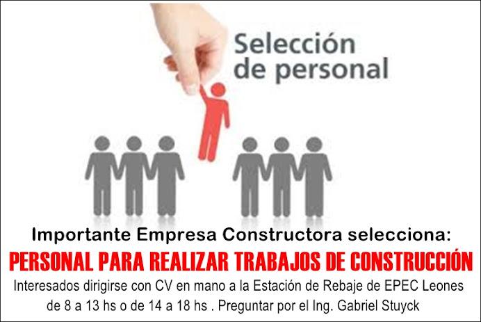 ESPACIO PUBLICITARIO: SELECCIÓN DE PERSONAL