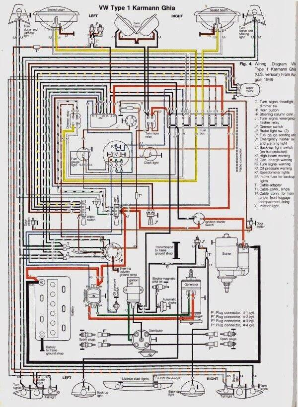 ep inje u00e7 u00e3o eletr u00f4nica  esquema el u00e9trico do karmanguia 1968 Ford Headlight Switch Wiring Diagram 1989 Ford F 150 Headlight Switch Wiring Diagram