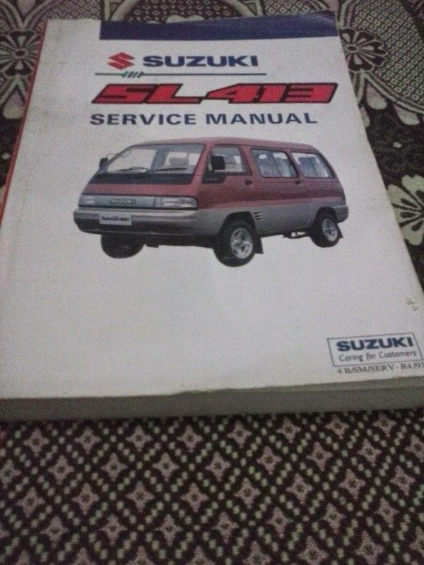 Service Manual dan Wiring Diagram Mobil Suzuki ~ Dokter Mobil