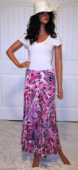 Sassy in Abstract Animal Print in Purple and Pink