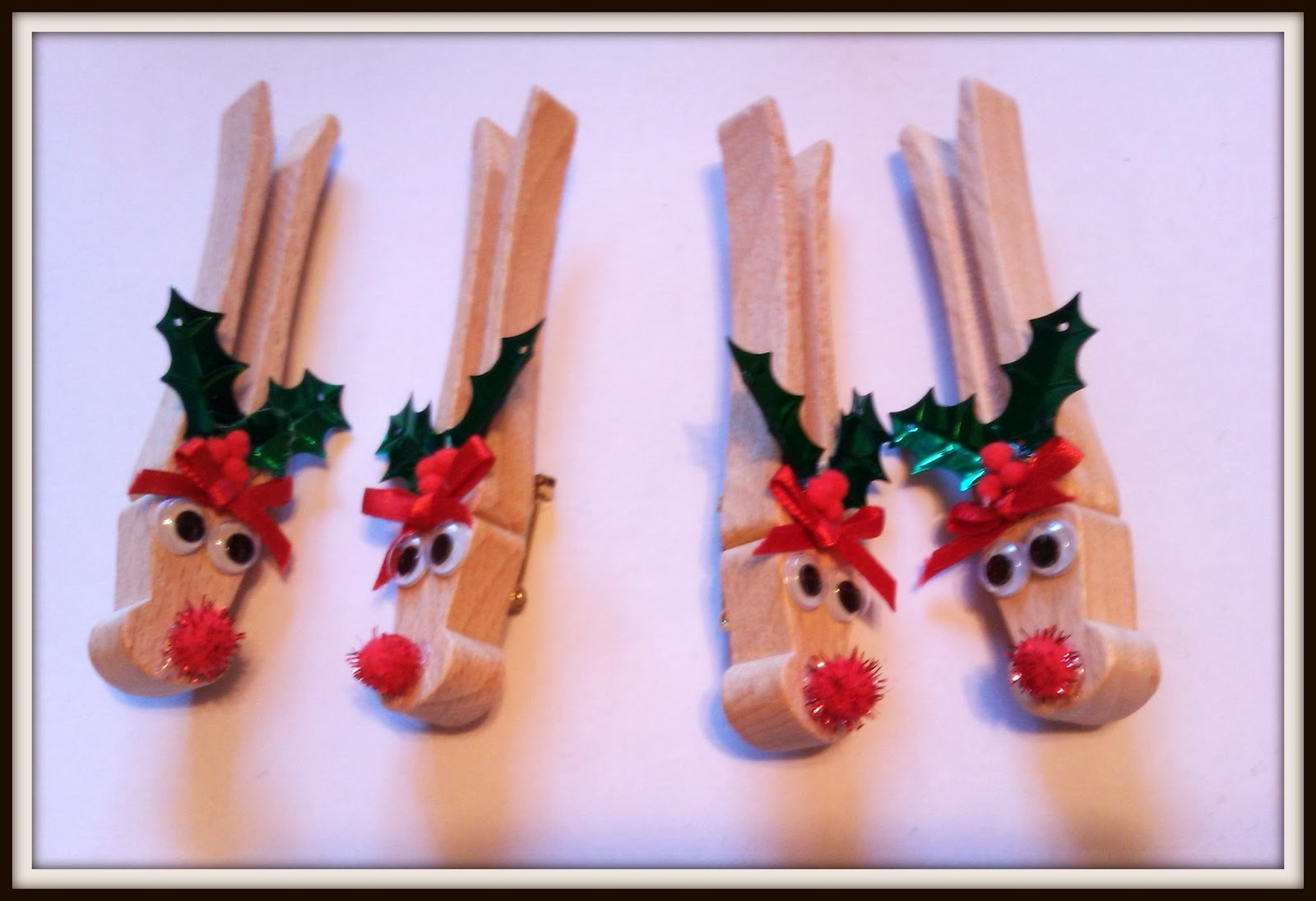 Double treble craft adventures for Reindeer project