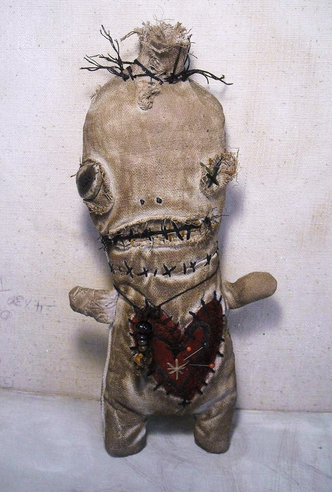 Junker Jane Art Dolls and Soft Sculptures: Voodoo Ezili