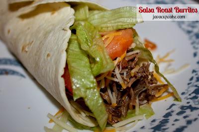 JavaCupcake: Salsa Roast Burritos