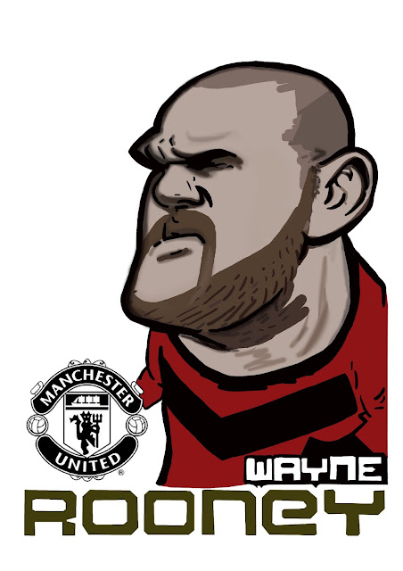 [ FANART ] making Wayne Rooney