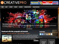 CreativePro - Premium Blogger Templates Free Download
