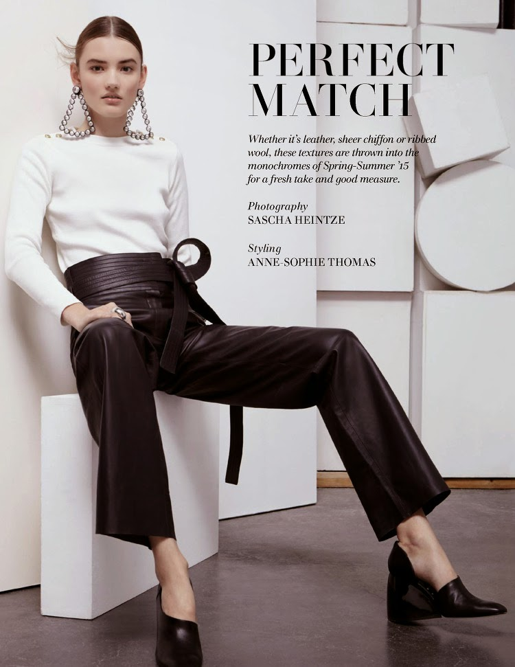 Fashion Model: Gabriele Regesaite for L'Officiel Singapore