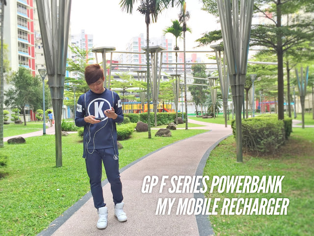 GP Fast Track PowerBank - Evilbean Singapore Blogger