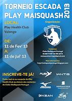 Torneio Escada Play MaiSquash 2013