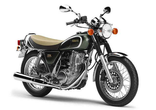 Yamaha SR400 35th Anniversary Edition : Yamaha celebrates 35th anniversary of the SR series with a special Limited Edition Yamaha SR400 that will be available in the Japanese market.