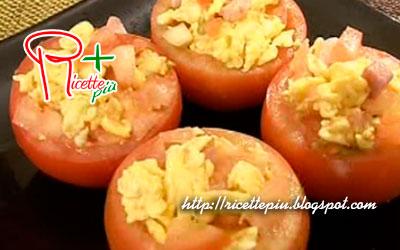 Pomodori Ripieni con Pancetta e Uova di Cotto e Mangiato