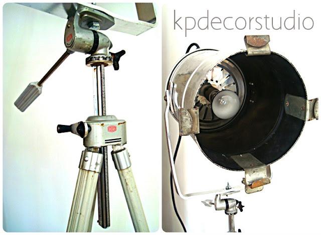 Iluminación para decoradores. Venta de objetos vintage online para negocios y estudios.