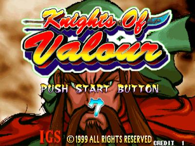 三國戰紀(Knights of Valour)+作弊碼金手指,街機經典懷舊動作RPG遊戲!