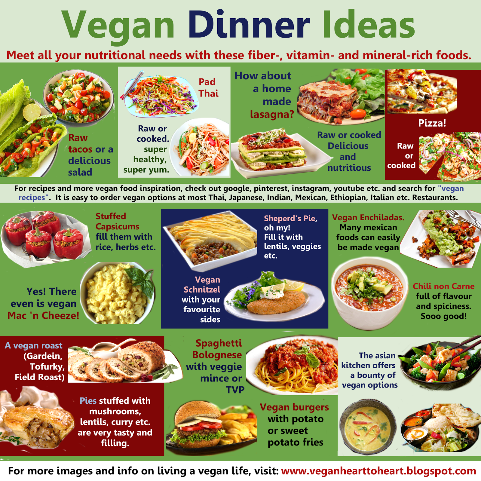 Vegan heart to heart vegan dinner ideas vegan dinner ideas posted by theresa at 1020 pm forumfinder Choice Image