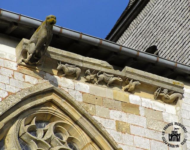 SAINT-AMAND-SUR-FION (51) - Eglise Saint-Amand (Extérieur)