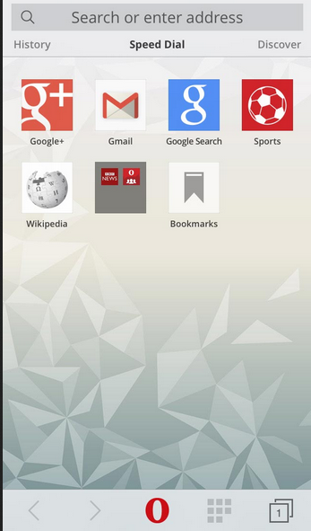 Aplikasi Opera Mini 8 Terbaru Untuk iPhone dan iPad