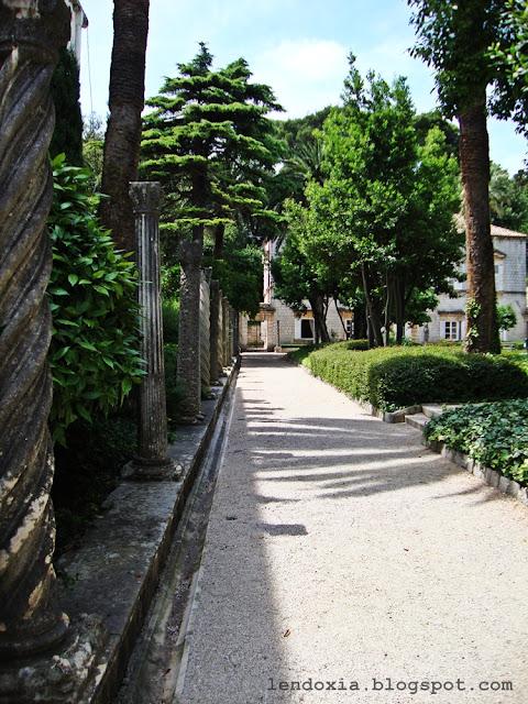 vrt rektorata u dubrovniku