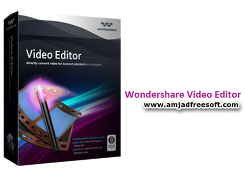 Wondershare Video Editor v5.1.1 with Crack latest version free download