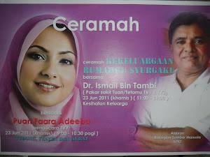 Tongkat Ali Nu-Prep 100 ' Seminar Kesihatan' KPKT 2011 Bersama Pakar Andrologia Malaysia