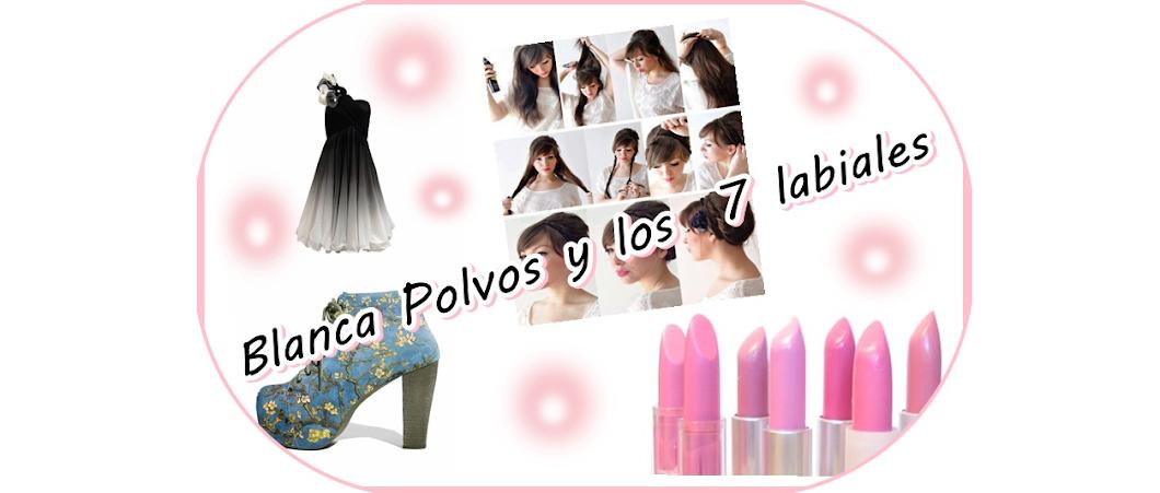 Blanca Polvos y los 7 labiales