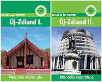 Új-Zélandról írt útikalauzaim