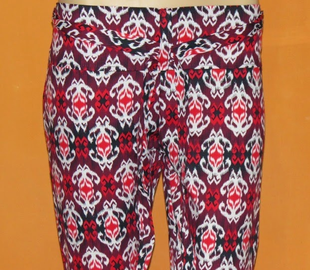 Legging Katun Stretch Motif Tribal