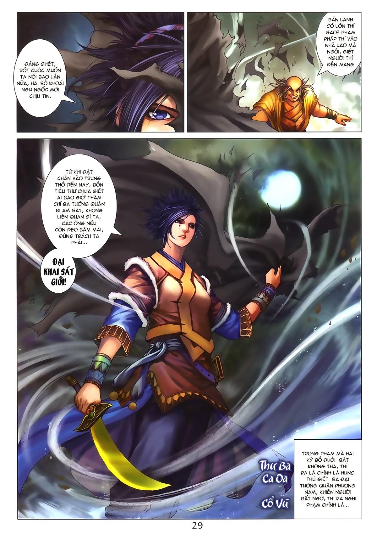 Tứ Đại Danh Bổ Chap 286 - Trang 29