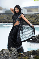 Amala, Paul, Hot, Wallpapers, Nayak, Latest, red sari, black saree, navel show, desi, indian, girl
