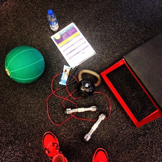 Workout at Pure Fitness Gym