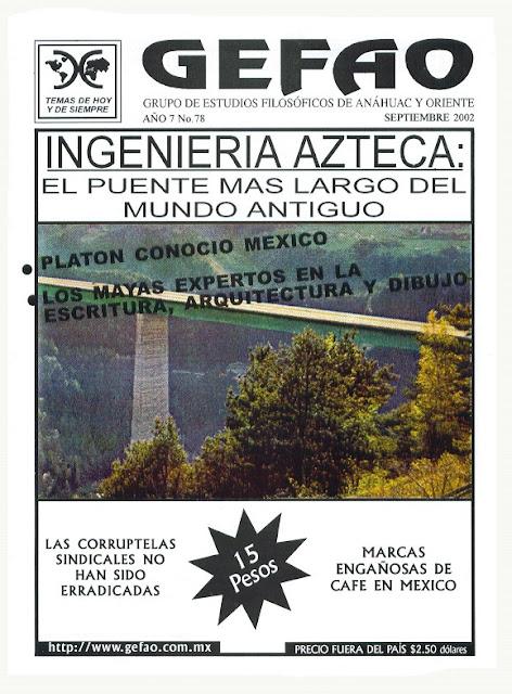 Ingenieria Azteca Revista GEFAO