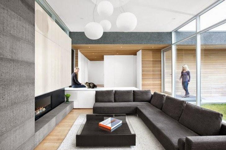 Ide Desain Ruang Tamu Minimalis Modern