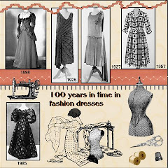page 1 - 100 years  fashion dresses..