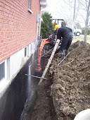 Waterloo Outside Excavation Waterproofing Repair dial 1-800-334-6290 Waterloo