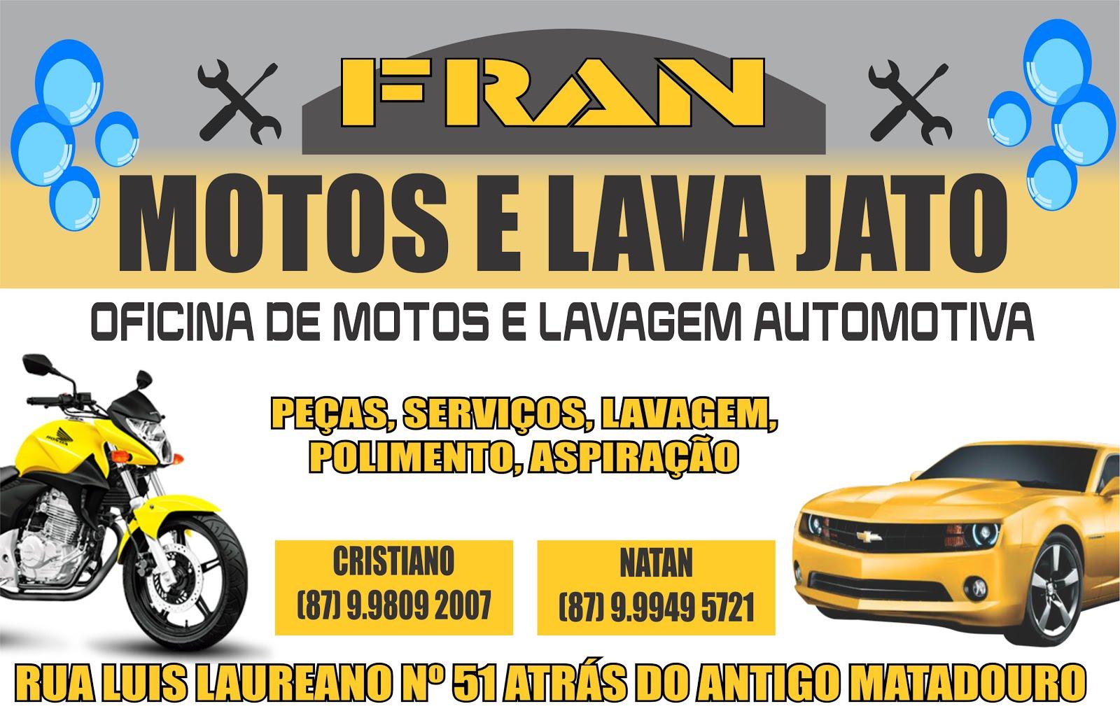 FRAN MOTOS E LAVA JATO