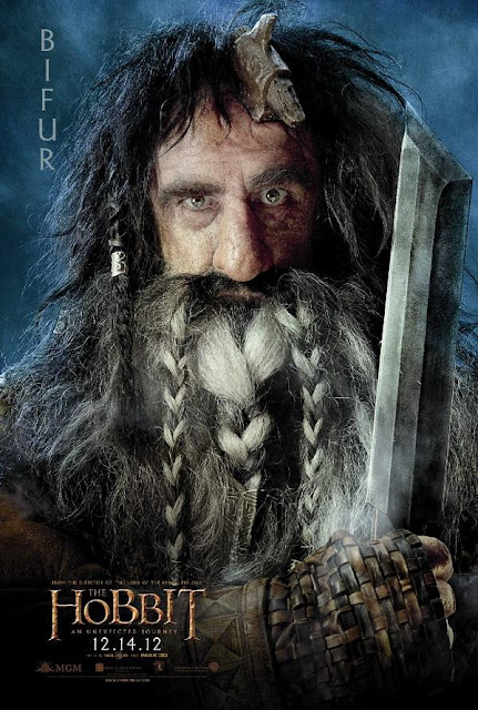 The Hobbit, character poster, bifur